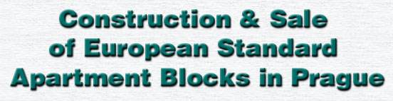 Construction & Sale of European Standard Apartment Blocks in Prague